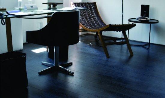 Sala com piso laminado Durafloor Design
