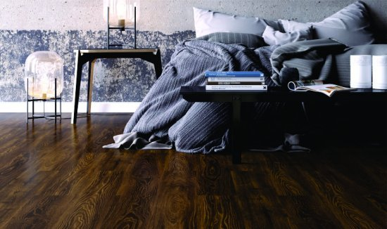 Sala com piso laminado Durafloor Marcas do Tempo by CASA CLAUDIA