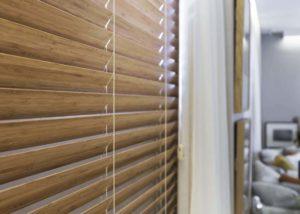 Persiana Horizontal 50mm Bambu